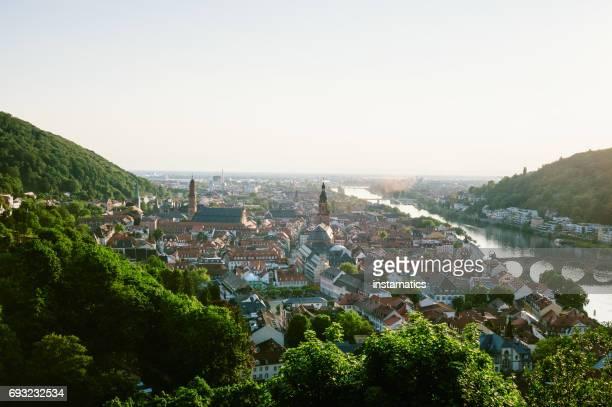 heidelberg stadt - heidelberg stock-fotos und bilder