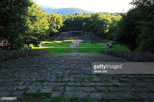 Heidelberg Thingstätte amphitheatre on the Heiligenberg cult place of the National Socialism