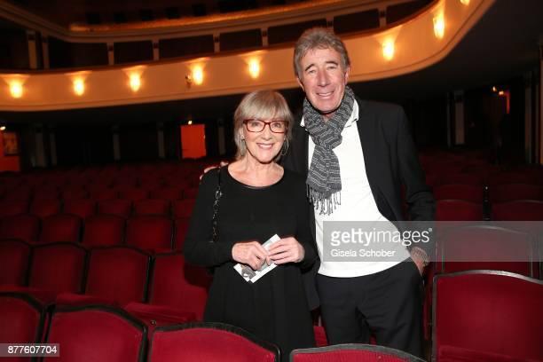 Heidelinde Weis and Thomas Pekny during the 'Josef und Maria' premiere at Komoedie theatre on November 22 2017 in Munich Germany