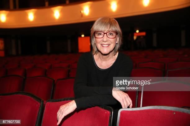 Heidelinde Weis during the 'Josef und Maria' premiere at Komoedie theatre on November 22 2017 in Munich Germany