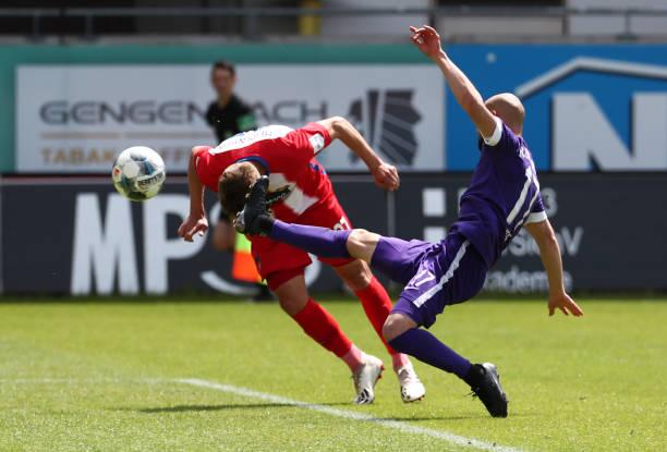 DEU: 1. FC Heidenheim 1846 v FC Erzgebirge Aue - Second Bundesliga