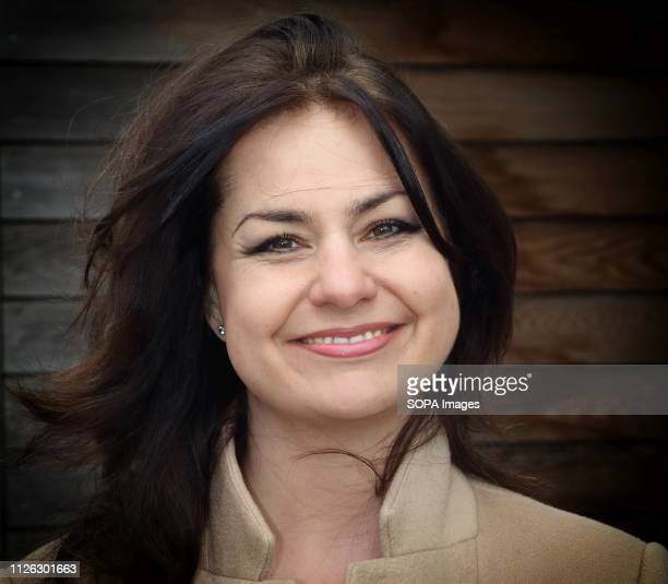 Heidi Allen MP for South Cambridgeshire Seen attending a community event in her constituency she has resigned from the Conservatives to join the new...