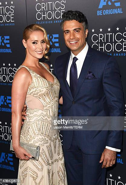 Heidi Balvanera and Jaime Camil attend the 5th Annual Critics' Choice Television Awards at The Beverly Hilton Hotel on May 31 2015 in Beverly Hills...