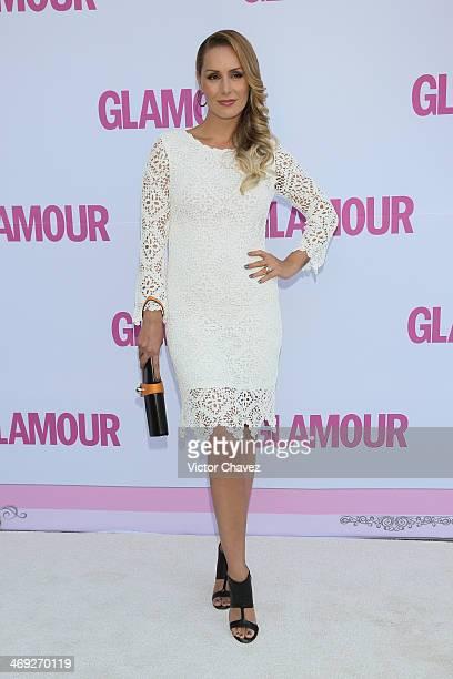 Heidi Balvanera attends the Glamour Magazine Mexico Beauty Awards 2013 at Museo Rufino Tamayo on February 13 2014 in Mexico City Mexico