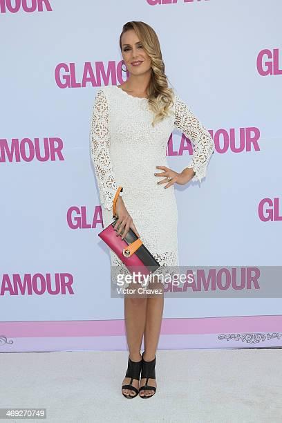 Heidi Balvanera attends the Glamour Magazine México Beauty Awards 2013 at Museo Rufino Tamayo on February 13 2014 in Mexico City Mexico