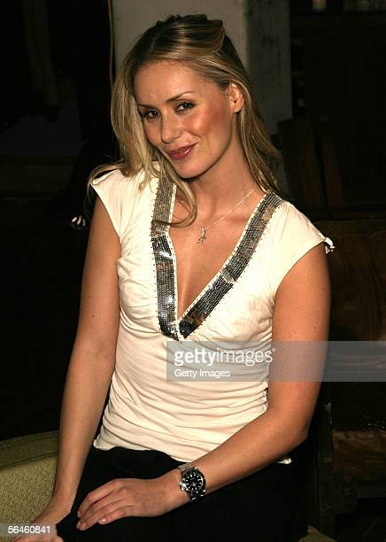 Heidi Balvanera poses at the Latinologues Cast Party sponsored by Jose Cuervo International December 17 2005 at Primus Studios in New York