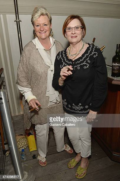Heidi Bass and Christine Lehman attend Cigars Spirits Presented By Montage Hotels Resorts Brought To You By Cigar Aficionado And Whisky Advocate...