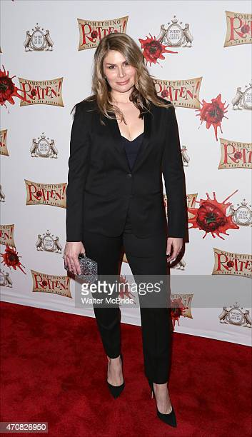 Heidi Blickenstaff attends the Broadway Opening Night After Party for 'Something Rotten' at Tavern on the Green on April 22 2015 in New York City