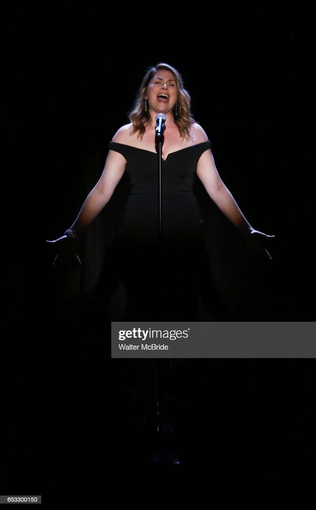 Heidi Blickenstaff performing at the Vineyard Theatre 2017 Gala at the Edison Ballroom on March 14, 2017 in New York City.