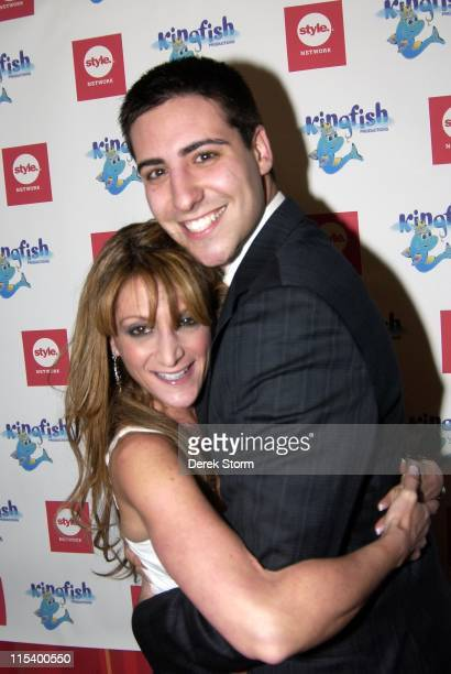 Heidi Bressler Adam Israelov of the Apprentice during Keith Collins and E Entertainment's Relationship Rehab Launch for Style Network at Marquee in...