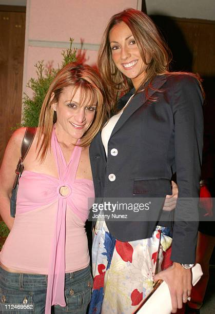Heidi Bressler and Katrina Campins during Katrina Campins and Heidi Bressler of The Apprentice Sighting April 6 2004 at The Marquee in New York City...
