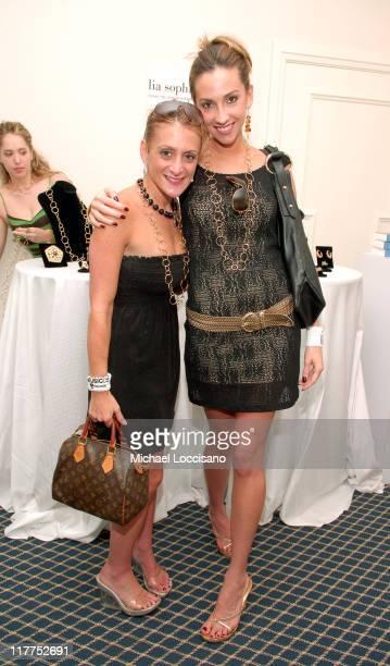 Heidi Bressler and Katrina Campins of The Apprentice 1 at Lia Sophia