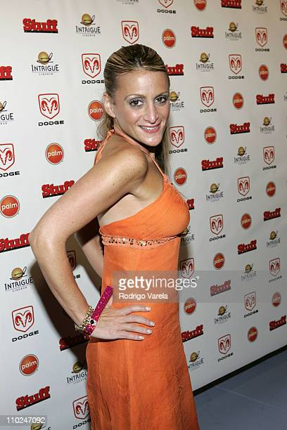 Heidi Bressler during 2005 MTV VMA Stuff Magazine Party Arrivals at Sagamore Hotel in Miami Beach Florida United States