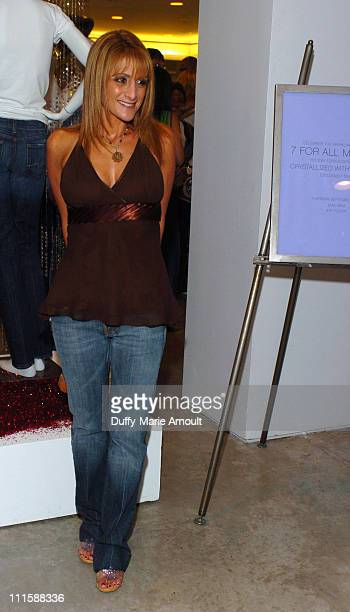Heidi Bressler during Launch Party for 7 for All Mankind's New Crystallized by Swarovski Holiday Jeans at Barney's New York in New York City New York...