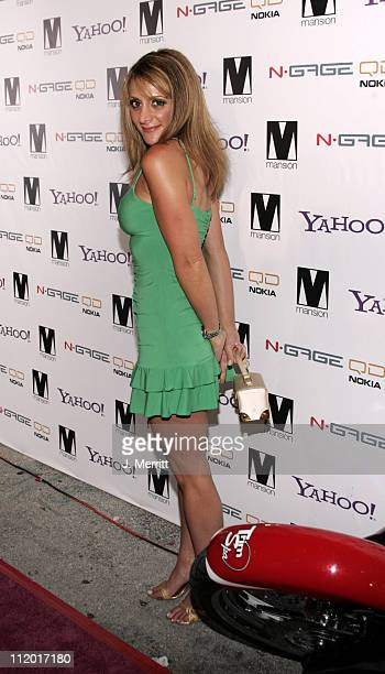 Heidi Bressler of The Apprentice during Paris Hilton Record Release Party at Mansion at Mansion in Miami California United States