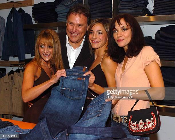 Heidi Bressler Peter Korah CEO of 7 Jeans Ereka Vetrini and Rebecca Dannenberg designer for 7 Jeans