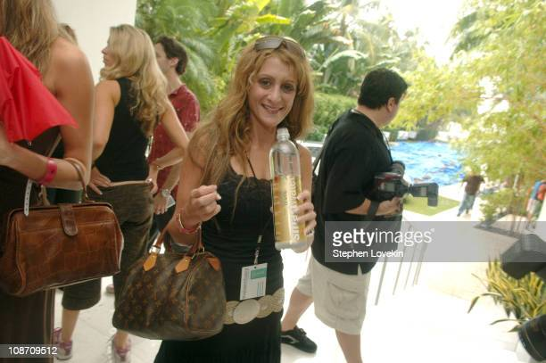 Heidi Bressler with SmartWater during 2005 MTV VMA Vitamin Water Suite Day 1 at Sagamore Hotel in Miami Beach Florida United States