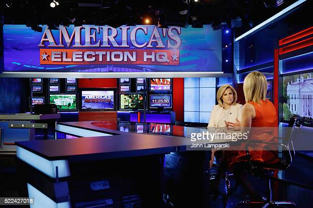 Heidi Cruz wife of Presidential Candidate Ted Cruz visits FOX News at FOX Studios on April 19 2016 in New York City