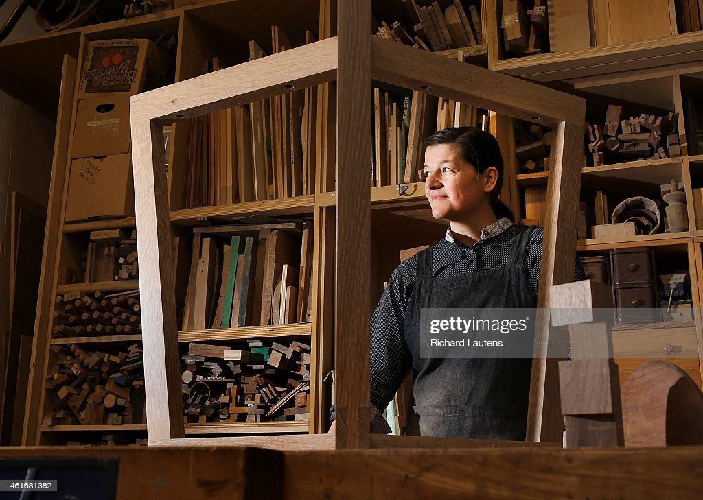 Furniture Designer Heidi Earnshaw : News Photo