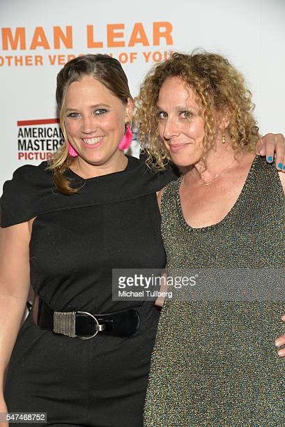 """Heidi Ewing and Rachel Grady attend the premiere of Music Box Films' """"Norman Lear: Just Another Version Of You"""" at The WGA Theater on July 14, 2016..."""