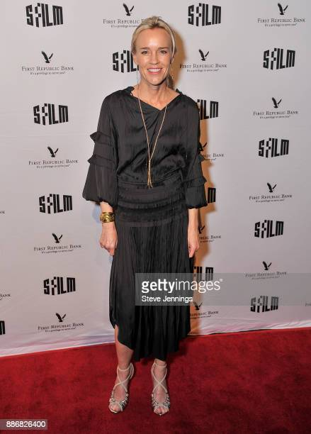 Heidi Fisher SFFILM Awards Night CoChair attends the 2017 SFFILM Awards Night at Palace of Fine Arts Theatre on December 5 2017 in San Francisco...