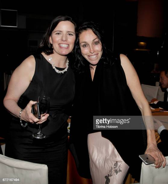 Heidi Fleiss and Friend attend the Humane Society's annual 'To The Rescue' Gala on April 22 2017 in Los Angeles California