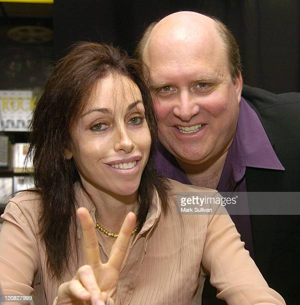 Heidi Fleiss and Hal Lifson author during Sex and the Sixties with Heidi Fleiss and Hal Lifson at Tower Records in West Hollywood California United...