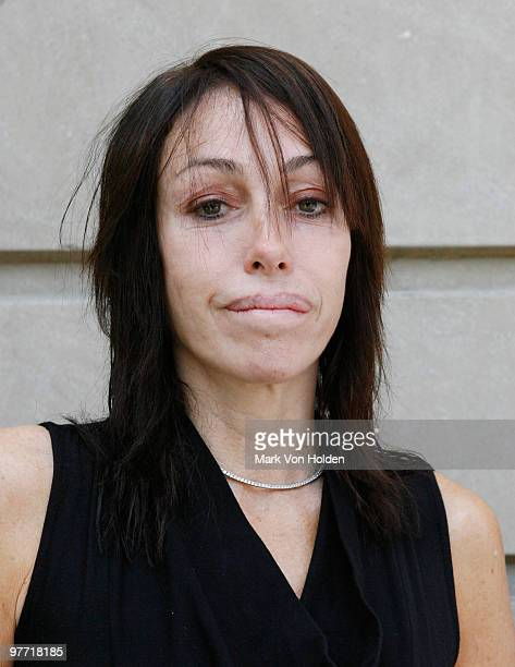 Heidi Fleiss arrives at PetSmart's annual meeting at The RitzCarlton New York on June 17 2009 in New York City