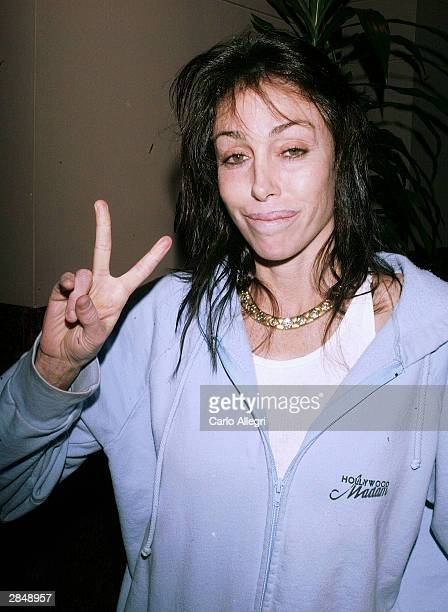 Heidi Fleiss arrives for a charity screening of the film 'Aileen Life and Death of Serial Killer' to benefit Amnesty International on January 6 2004...