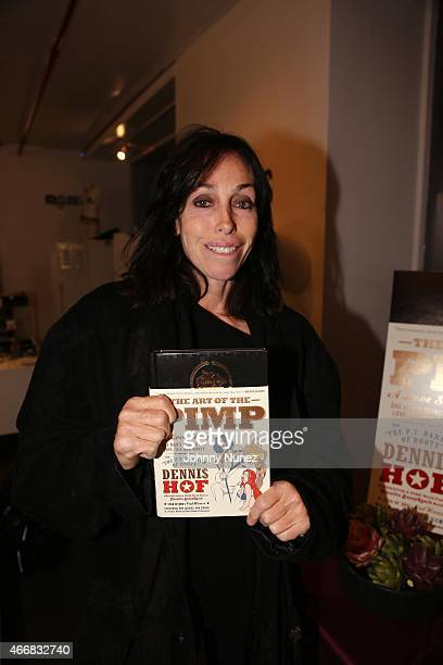 Heidi Fleiss attends Judith Regan's Art Of The Pimp Book Launch at Museum of Sex on March 18 in New York City