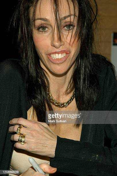 Heidi Fleiss during Heidi Fleiss Signing Her Book Pandering at Borders Books in Westwood California United States