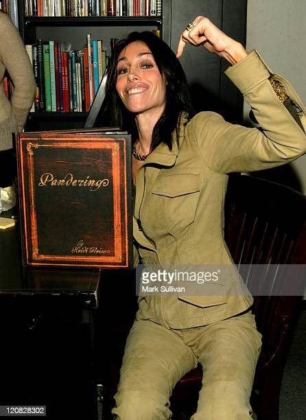 Heidi Fleiss during Heidi Fleiss Signing Her New Book Pandering at Book Soup in West Hollywood California United States