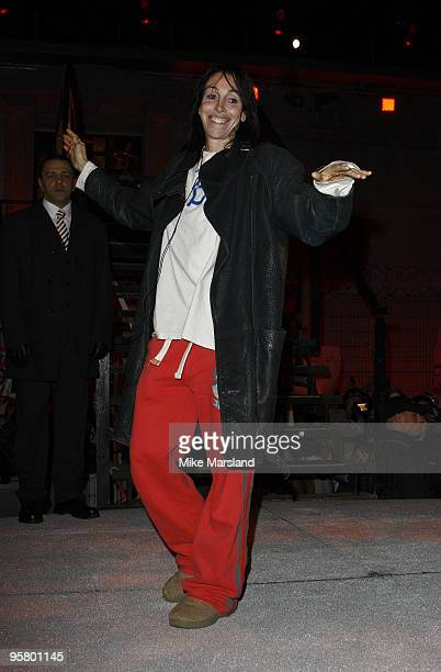 Heidi Fleiss is evicted from this year's Celebrity Big Brother at Elstree Studios on January 15 2010 in Borehamwood England