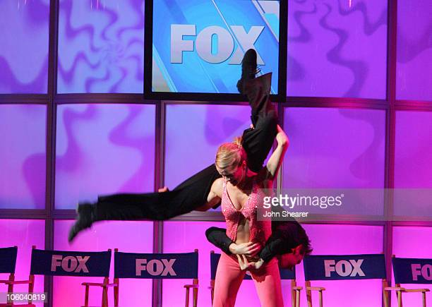 Heidi Groskreutz and Benji Schwimmer of So You Think You Can Dance