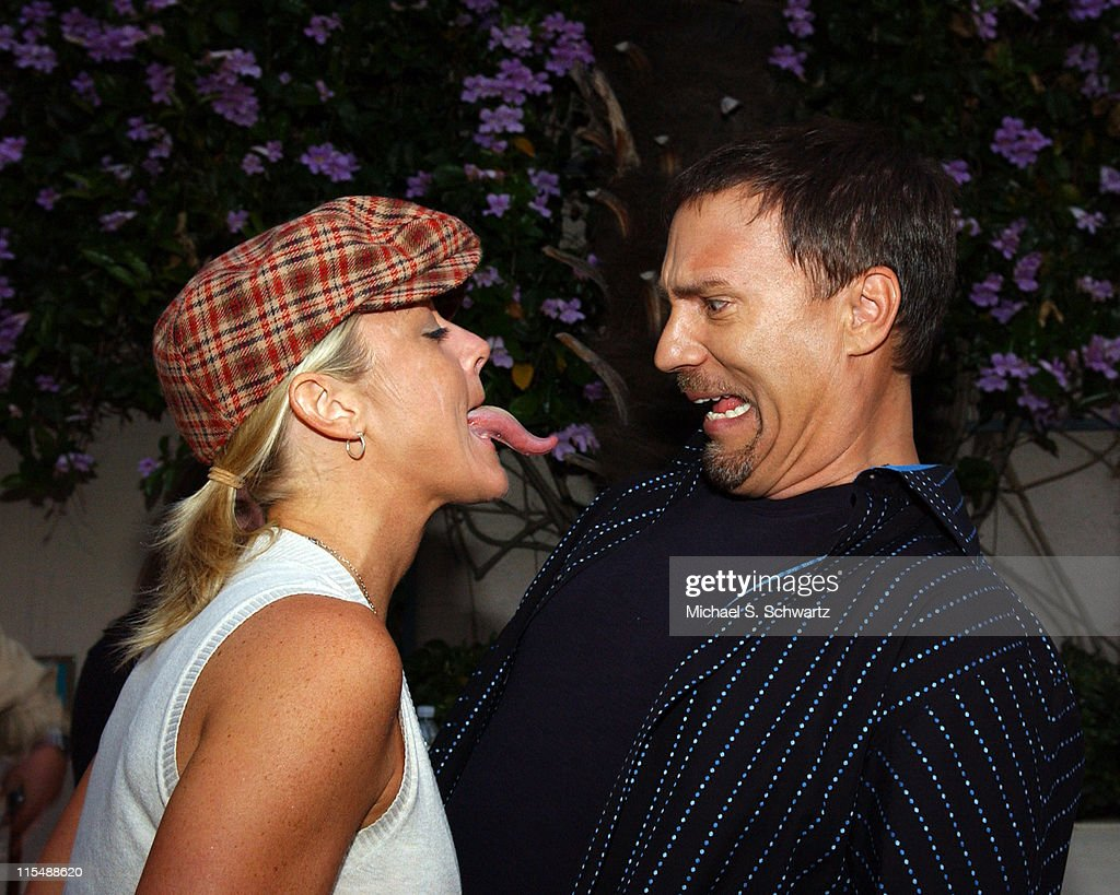 Heidi Hamilton and Craig Shoemaker during 'weSparkle, Take VI Comedy Tonight' Honoring Jonathan Winters at The Alex Theatre in Glendale, California, United States.