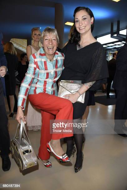 Heidi Hetzer and Lina van de Mars attend the Victress Awards Gala 2017 on May 8 2017 in Berlin Germany