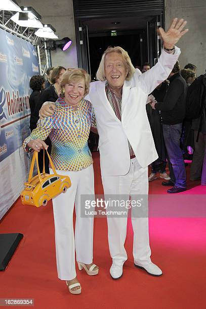 Heidi Hetzer and Rolf Eden attend the Holiday On Ice Show at Tempodrom on February 28 2013 in Berlin Germany