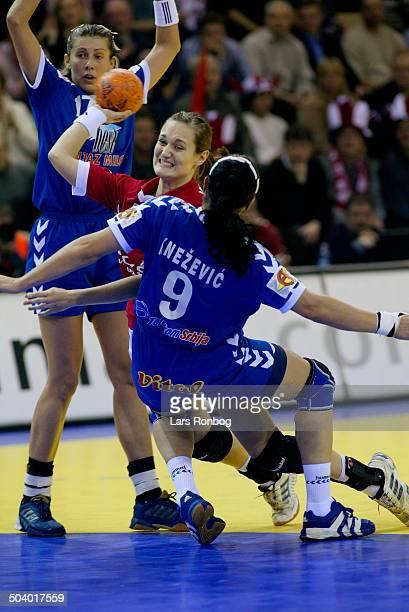 Heidi Johansen Denmark Bojana Petrovic Ljiljana Knezevic Yugoslavia