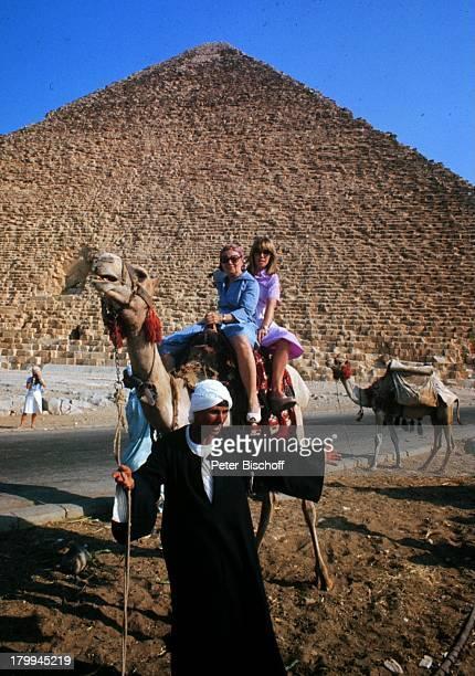 Heidi Kabel Tochter Heidi MahlerKairo/Ägypten Afrika Urlaub Pyramiden KamelTier