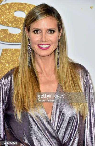 "Heidi Klum ""America's Got Talent"" Season 13 Live Show Red Carpet at Dolby Theatre on September 4, 2018 in Hollywood, California."