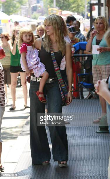Heidi Klum and daughter Leni