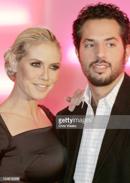 Heidi Klum and Guy Oseary during Victoria's Secret Angels Across America Tour Ends in Los Angeles at Geisha House in Hollywood California United...