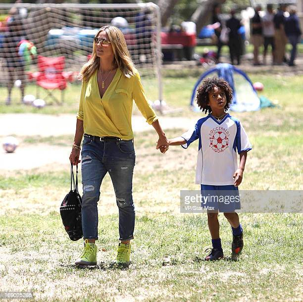 Heidi Klum and Henry Samuel as seen on May 18 2013 in Los Angeles California