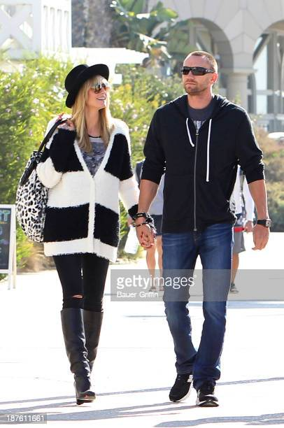 Heidi Klum and her boyfriend Martin Kristen are seen on November 10 2013 in Los Angeles California