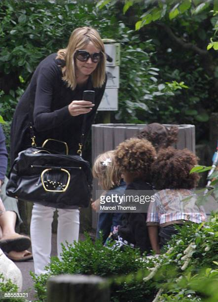 Heidi Klum and kids LeniJohan and Henry are seen on the Streets of Manhattan on June 17 2009 in New York City