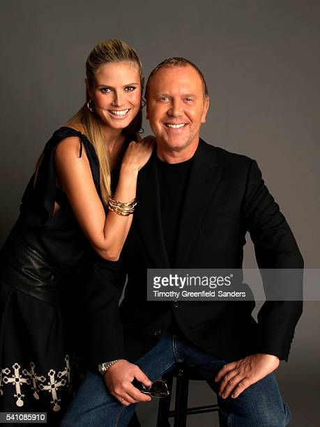 Heidi Klum and Michael Kors