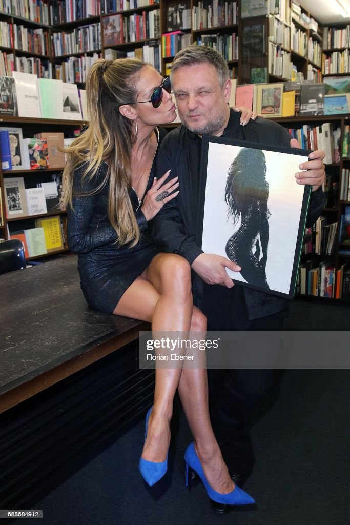 Heidi Klum And Rankin Present Their New Book 'Heidi Klum By Rankin' In Cologne