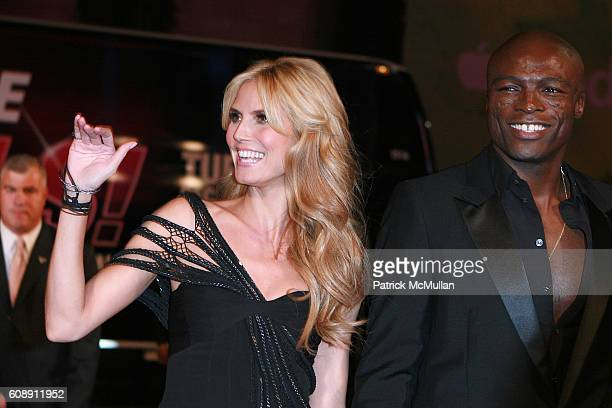 Heidi Klum and Seal attend 12th Annual Victoria Secret Fashion Show Arrivals at Kodak Theater on November 15 2007 in Hollywood CA