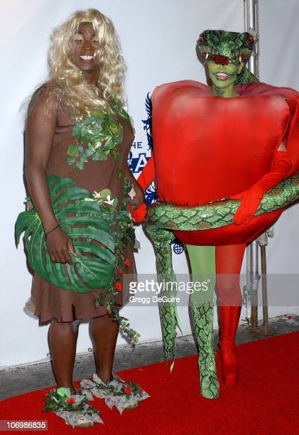 Heidi Klum and Seal during 7th Annual Heidi Klum Halloween Party Sponsored by MM's Dark Chocolate Arrivals at SBE'S Privilege in Los Angeles...