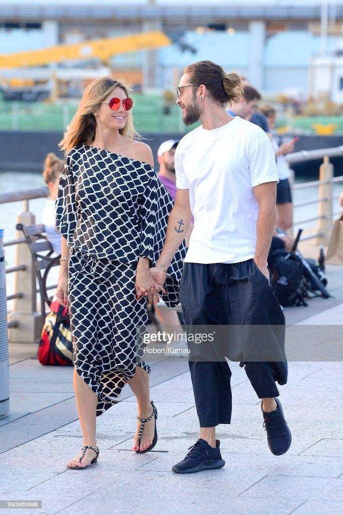 Celebrity Sightings in New York City - July 2, 2018